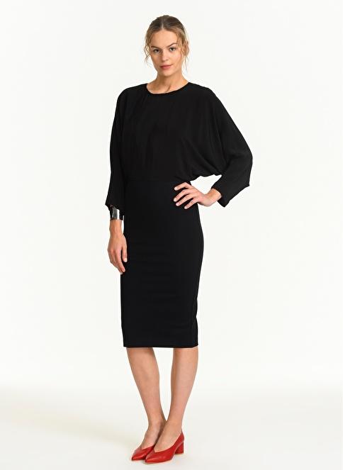 Stefanel Elbise Siyah